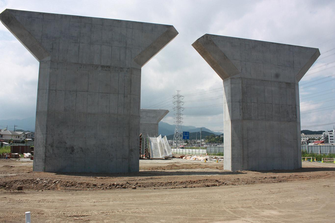 第二東名高速道路 成瀬地区基礎工事
