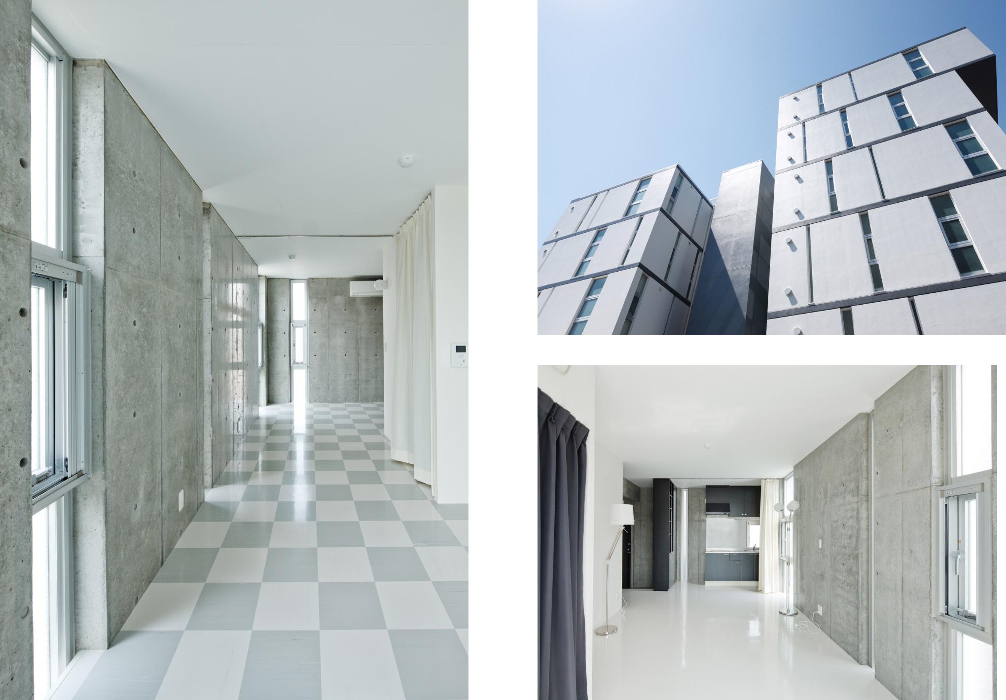 「全室角部屋南向き」のマンション
